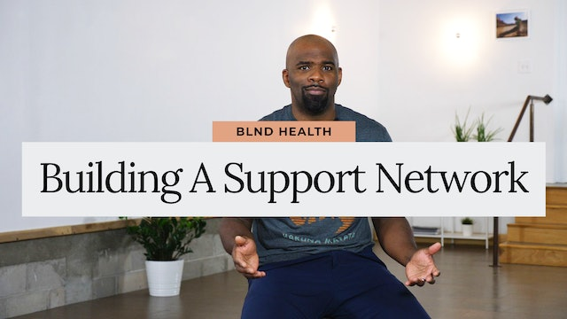 Building a Support Network with Jevon, LLMSW from BLND