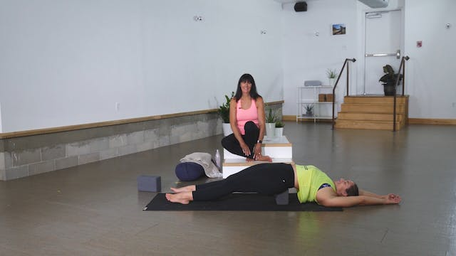 Restorative: Hips with Cindy