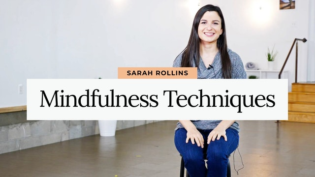 DBT Part One: Mindfulness Techniques with Sarah from Embodied Wellness