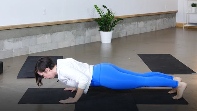 Pose Breakdown: Chaturanga with Ann F...