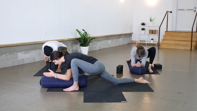 Restorative: Hips + Hamstrings with C...