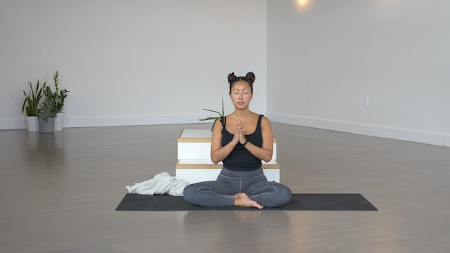 Guided Meditation + Pranayama with Soojin
