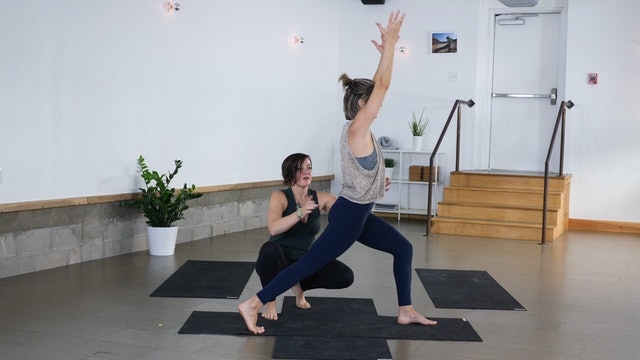 Pose Breakdown: Warrior I with Ann Fancy