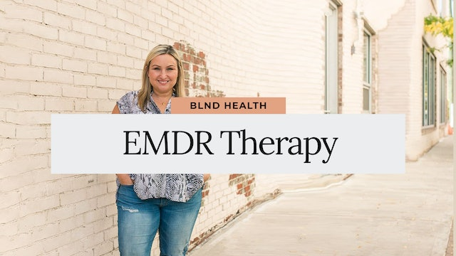 What is EMDR Therapy with Cricket, LMSW from BLND