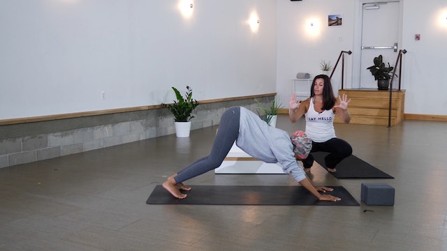 Pose Breakdown: Downward Dog with Carly