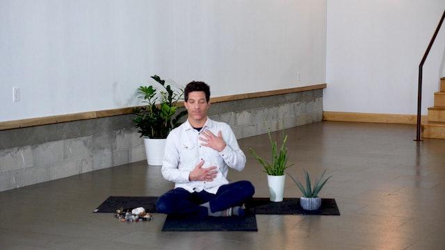 Meditation + Pranayama with Jeff