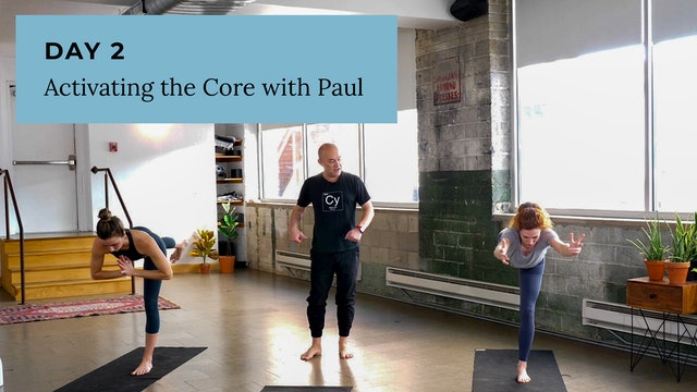 Vinyasa: Activating the Core with Paul
