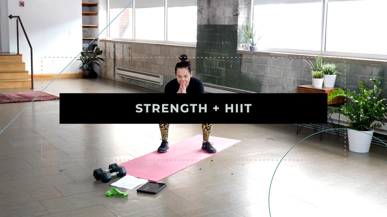Strength + HIIT