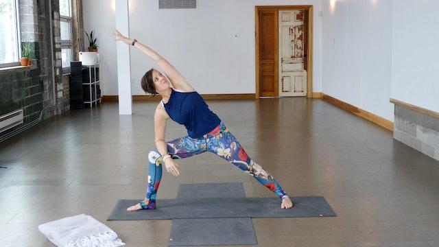 Yoga Education: Building Heat with Ann