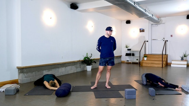 Restorative: Grounding + Cool Down with Chris