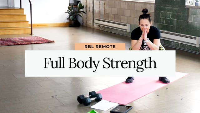 20 Minute Full Body Strength with Mel...