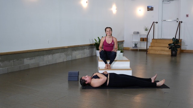 Vinyasa: Trauma Release Flow with Casey