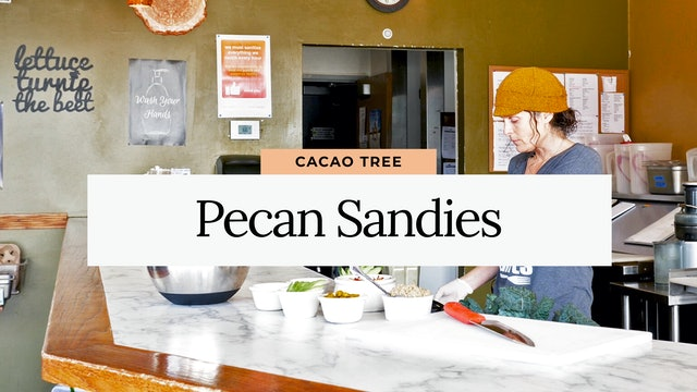 Cacao Tree Cafe: Pecan Sandies