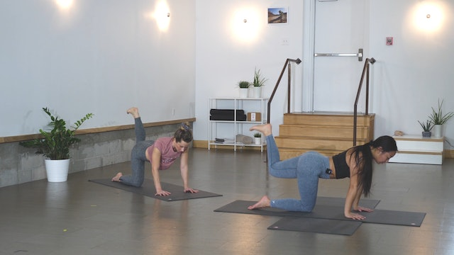 Yoga + Strength: Glutes + Hips with Han