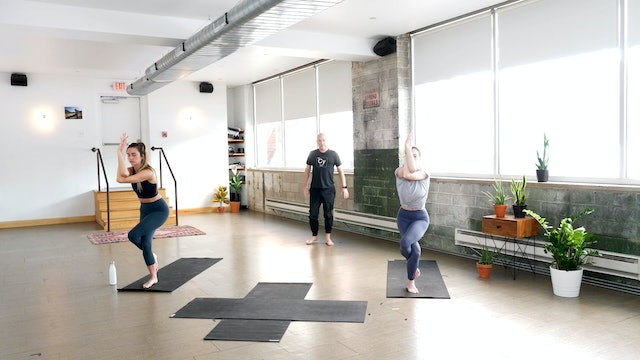 Vinyasa: Moving through the Midline with Paul