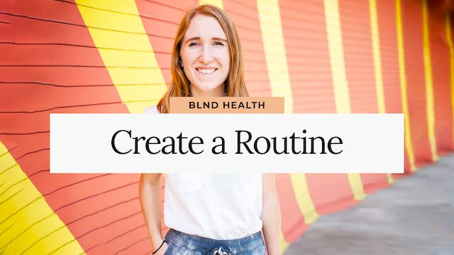 Therapy Talks: Creating a Routine