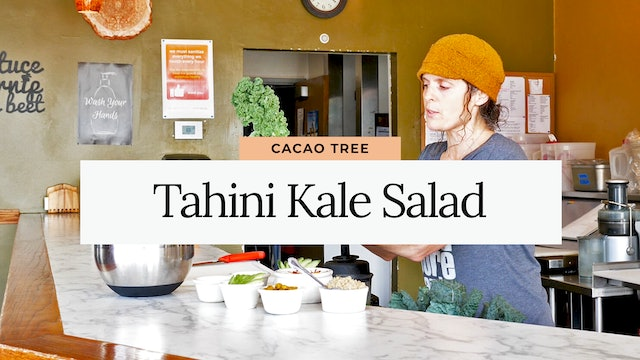 Cacao Tree Cafe: Tahini Kale Salad