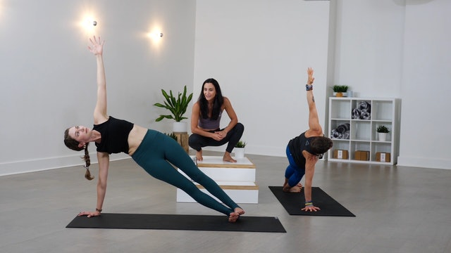 Blend: Side Planks with Sindy