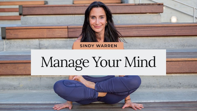 Manage your Mind with Sindy Warren