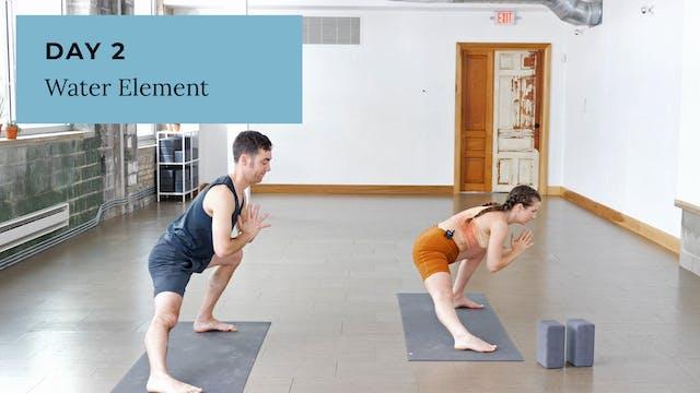 Elemental Yoga: Water Flow