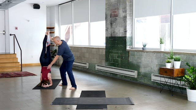 Vinyasa: Working to Headstand with Paul