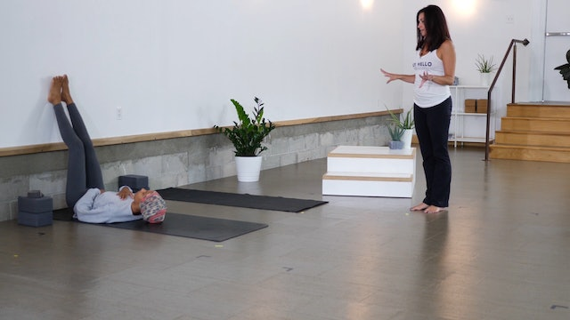 Basics: Back Health on the Wall with Carly
