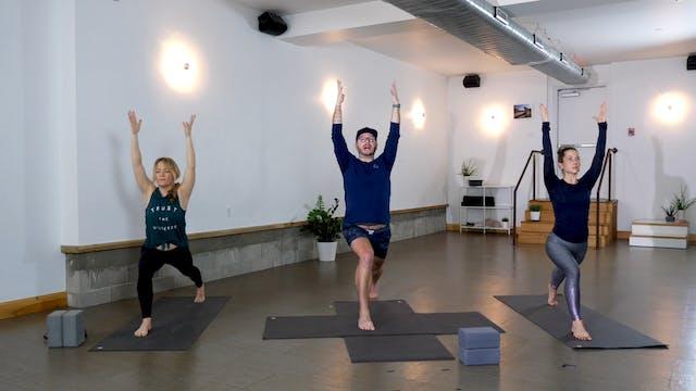 Yoga + Strength: Glutes + Quads with ...
