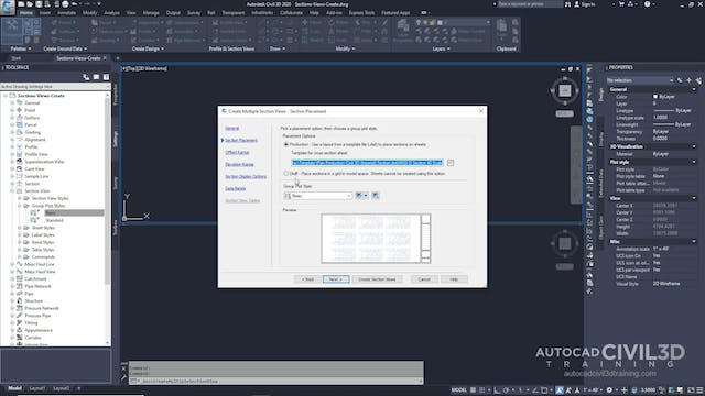02 Creating Section Views