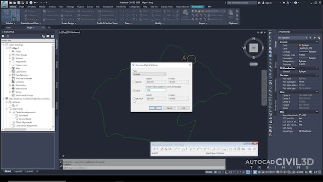 02 Creating an Alignment with the Alignment Layout Tools