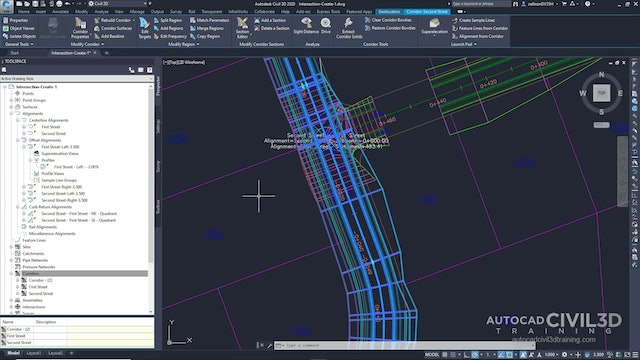 01 Creating a Peer Road Intersection