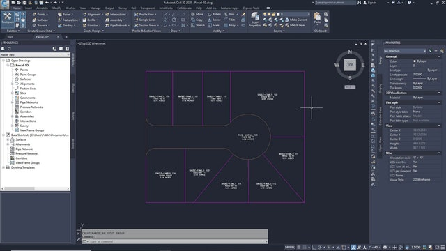 04 Subdividing a Parcel with a Swing Line