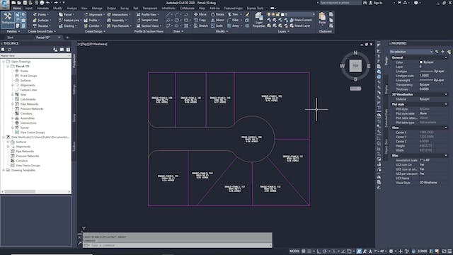 04 Subdividing a Parcel with a Swing ...