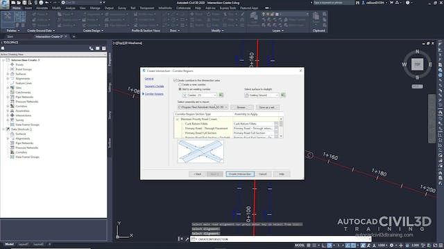 03 Creating an Intersection with Exis...