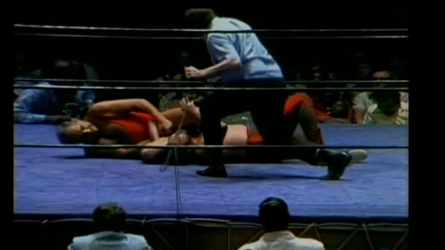 Paul Boesch vs. Gary Hart