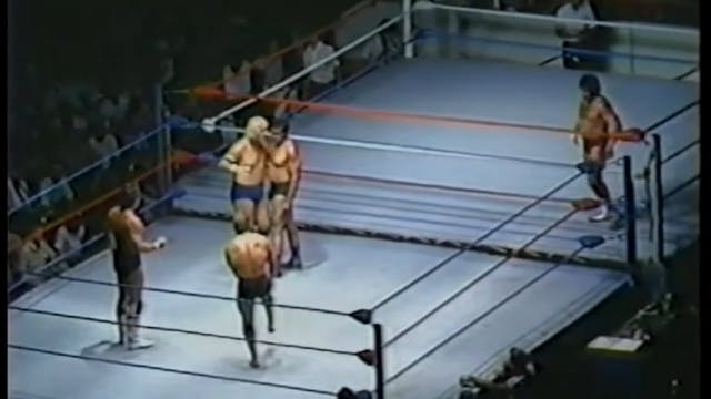 2 Ring Battle Royal from the CheckerDome
