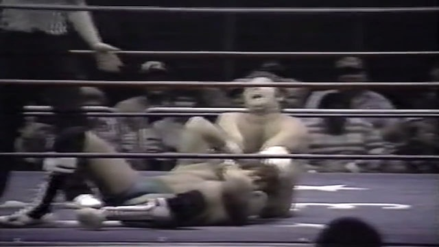 Tom Prichard vs Roy Lee Welch(Bull Rope Match)