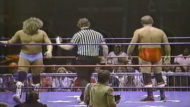 Tom Prichard vs Roy Lee Welch(US JR. ...