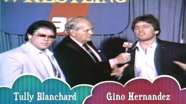 Gino Hernandez vs. Mil Mascaras