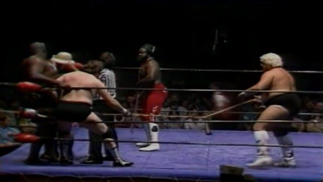 Dusty Rhodes & Junkyard Dog vs. Ted D...