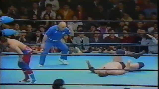 Stan Hansen vs. Dynamite Kid (Japan)