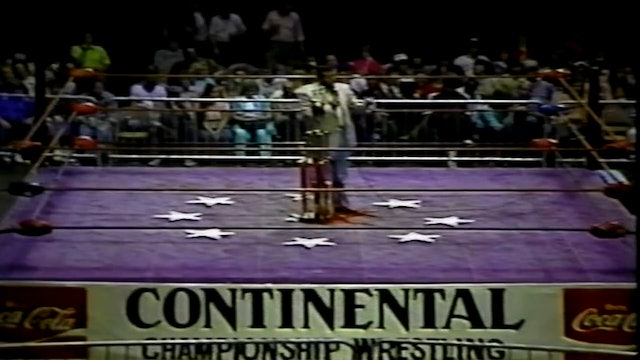 Continental TV Title Finals Match(Fuller vs Welch vs Soto)
