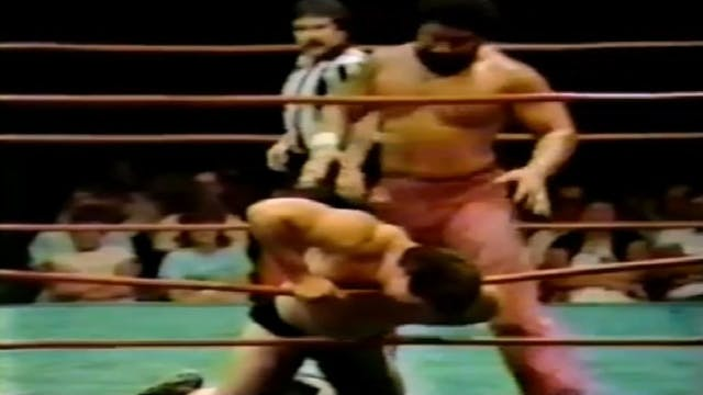 King Tonga vs. Rick Steiner