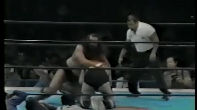 Dick Murdoch VS King Kong Brody from Japan
