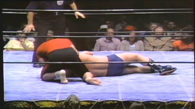 Greg Valentine vs. Ichiban