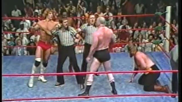 Kerry Von Erich & Rufus R Jones VS Jo...