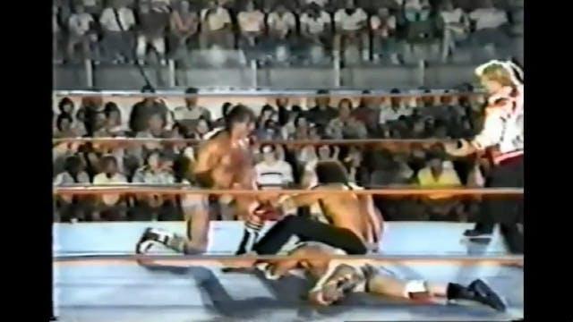Steve Strong & Samu vs. Kawada & Regg...