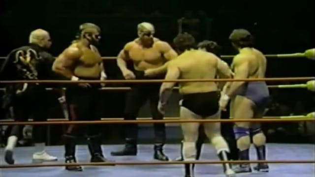 Road Warriors vs Martel & Bravo