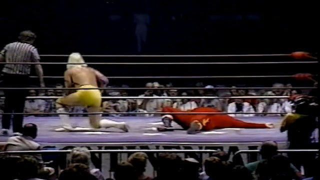 The Flame vs Tommy Rich