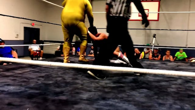3-Golden Terror vs. David Anthony Let...