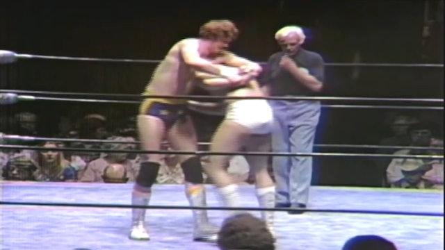 David Von Erich vs. Gino Hernandez (Texas Title)